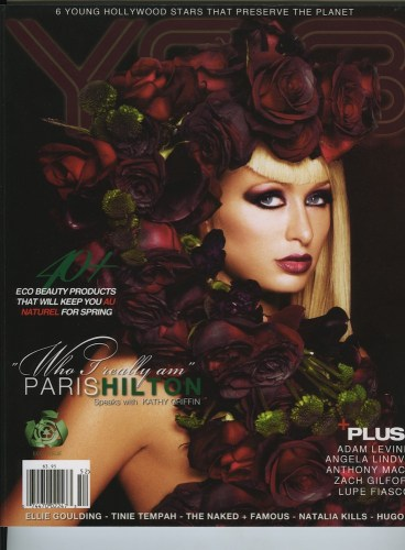 Issue 202 The Eco Issue Paris Hilton - Print Magazine Covers 1999-2018
