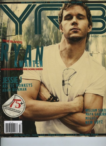 Issue 203 The Travel Issue Ryan Kwanten - Print Magazine Covers 1999-2018