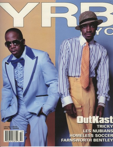 Issue 34 Fashion OutKast - Print Magazine Covers 1999-2018