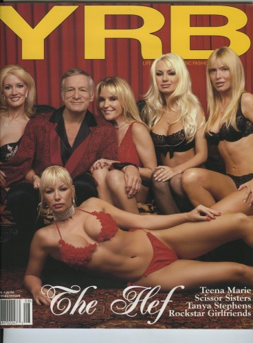 Issue 44 Estrogne Hugh Hefner - Print Magazine Covers 1999-2018