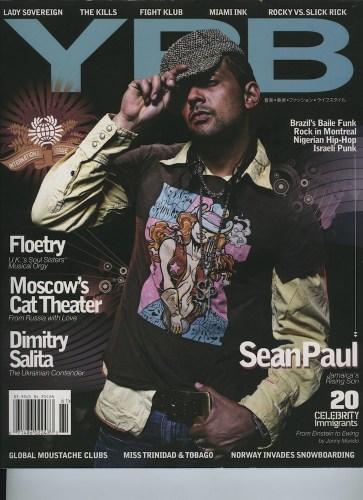 Issue 61 Local Global Sean Paul - Print Magazine Covers 1999-2020