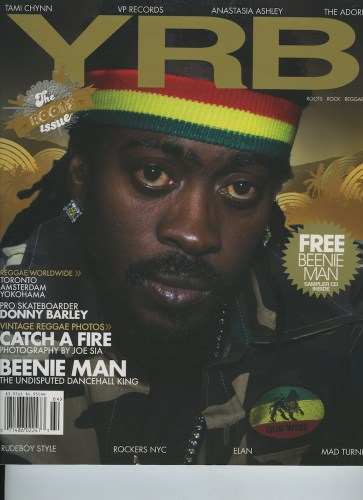 Issue 64 Roots Rock Reggae Bennie Man - Print Magazine Covers 1999-2018