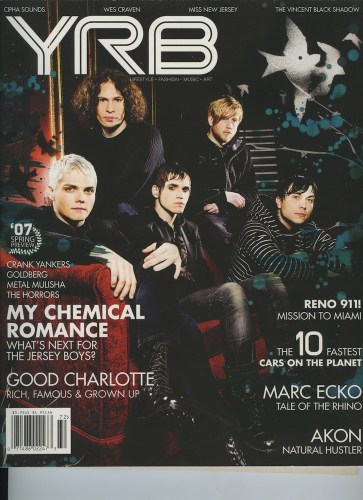 Issue 72 Spring Preview My Chemical Romance - Print Magazine Covers 1999-2018