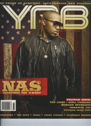 Issue 84Politics Issue Nas - Print Magazine Covers 1999-2018