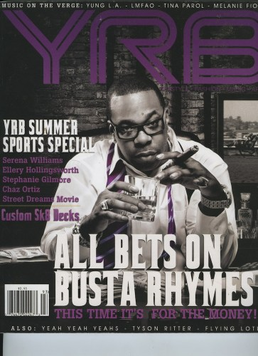 Issue 93 Summer Sport Busta Rhymes - Print Magazine Covers 1999-2018