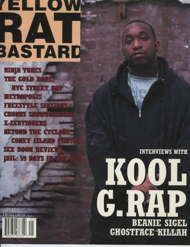 Spring 2002 Kool G. Rap - Print Magazine Covers 1999-2018