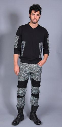 Jason - ARTISTIX with Andy Hilfiger SS17 @ArtistixJeans #nyfwm #cfda #nyfw