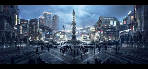 Onyx MonumentPlaza JDR 020 FIXED UPDATE - The Magic of Kingsglaive: Final Fantasy XV Exhibit August 19-September 3rd, 2016 @hpgrpgalleryny @kingsglaive