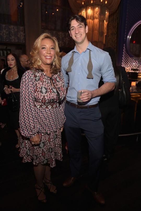 Denise Rich Will Kehler 540x810 - Event Recap: Gabrielle's Angel Foundation The Angel Ball Launch @CureCancerNow @ManhattanHooch
