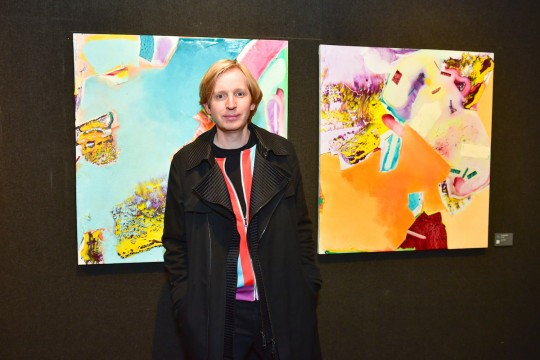 Valentine Uhovski Credit Patrick McMullan 540x360 - Event Recap: The Accessible Art Fair New York MvVO Art VIP Opening at the National Arts Club #accafny @mvvoart @NatnlArtsClub @LawlorMedia