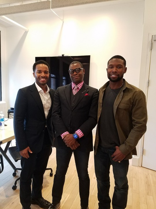 m31 - Feature: Moonlight Interview with André Holland and Trevante Rhodes by Jonn Nubian @_Trevante_ @moonlighmov @A24