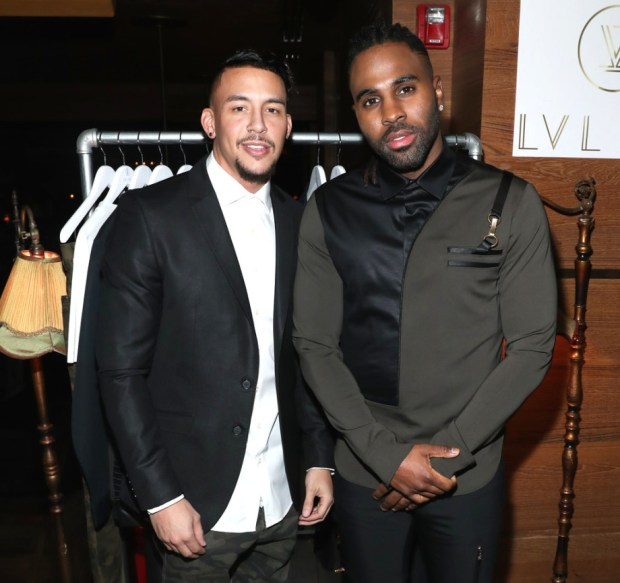 Jason+Derulo+Antonio+Brown+Hold+Dinner+Launch+  cHtcG8aTlx 920x866 - Event Recap: Antonio Brown x Jason Derulo LVL XIII Launch @AntonioisMuted @LVLXIII_BRANDS @JasonDerulo @TaoDowntown