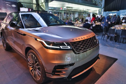 24. Atmosphere 2018 Range Rover Velar  - Event Recap: East Side House Gala 2017 @NYAutoShow @EastSideHouse33 #NYC #SouthBronx
