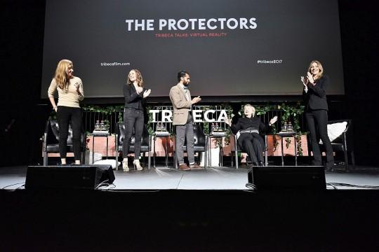 natgeoprotectors.029 540x360 - Event Recap: Hillary Clinton joins Kathyrn Bigelow @Tribeca Film Festival @HillaryClinton @DragonsOrg #VR premiere