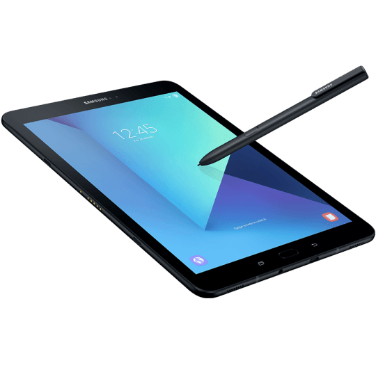 galaxy tab s3 gallery spen on tab black 540x535 - Review: Samsung Galaxy Tab S3 @SamsungMobileUS #GalaxyTabS3