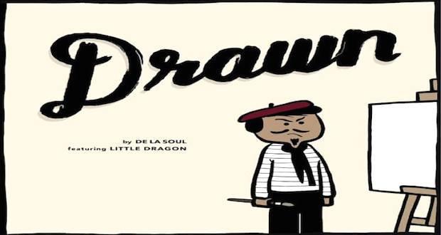 drawn de la soul little dragon the industry cosign it needs to be ced - De La Soul - Drawn ft. Little Dragon  @wearedelasoul @PlugWonDeLaSoul @DeLaSoulsDugout @LittleDragon
