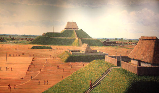 illinois cahokia half picture of cahokia 540x319 - A Look at the Oldest Places in the USA