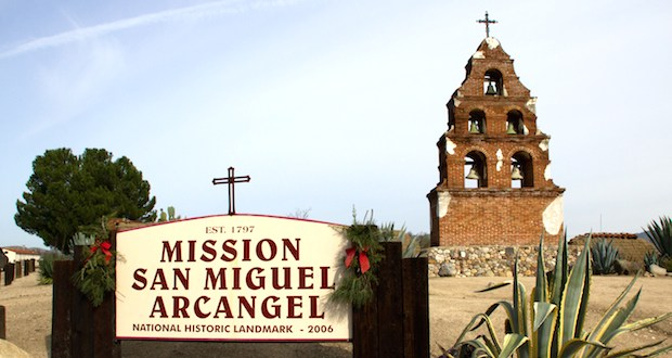 mission san miguel - A Look at the Oldest Places in the USA