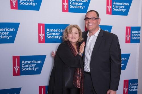 2 Brenda Vaccaro Mark Friedman 1 - Event Recap: American Cancer Society's Taste of Hope Comes to Broadway to Honor Jean Shafirof @ACSTasteofHope @LawlorMedia