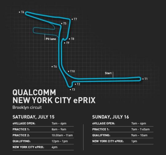 unnamedmap 540x504 - New York ePrix Race Preview @FIAformulaE @MSAmlinAndretti #NYCePrix  #FormulaE #nyc