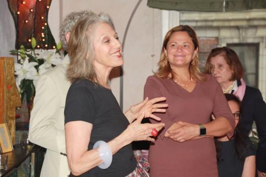 DF2gvlcXgAE077r 540x360 - Event Recap: Carmen Herrera Cocktails & Conversation @PublicolorNYC @MMViverito @The100YearsShow