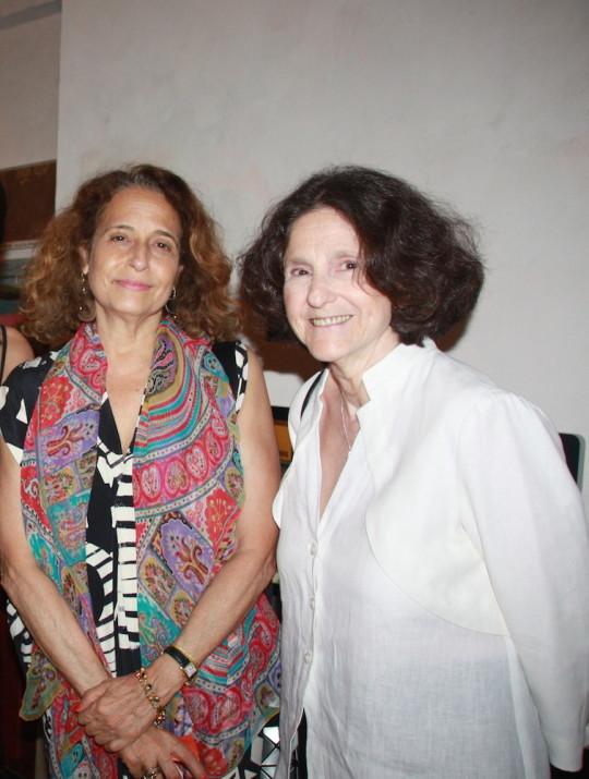 Kate Ballen Lidia Guibert Ferrara 540x715 - Event Recap: Carmen Herrera Cocktails & Conversation @PublicolorNYC @MMViverito @The100YearsShow