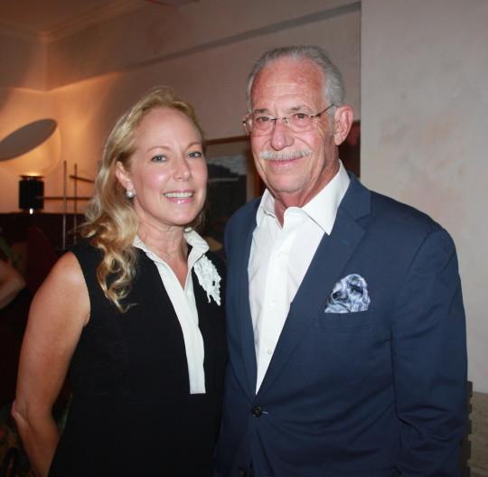 Maria Eugenia Maury and Bill Haseltine 540x528 - Event Recap: Carmen Herrera Cocktails & Conversation @PublicolorNYC @MMViverito @The100YearsShow