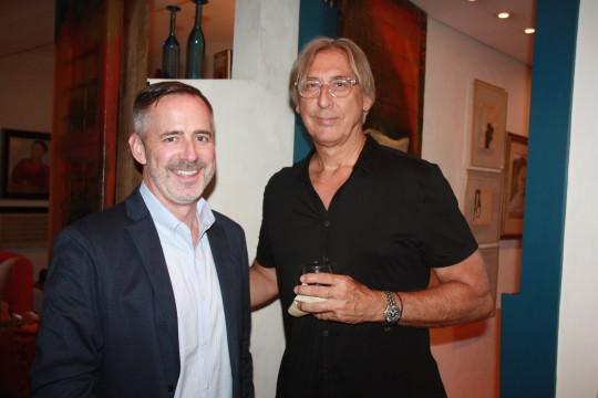 Tom Krizmanic Jon Otis 540x360 - Event Recap: Carmen Herrera Cocktails & Conversation @PublicolorNYC @MMViverito @The100YearsShow