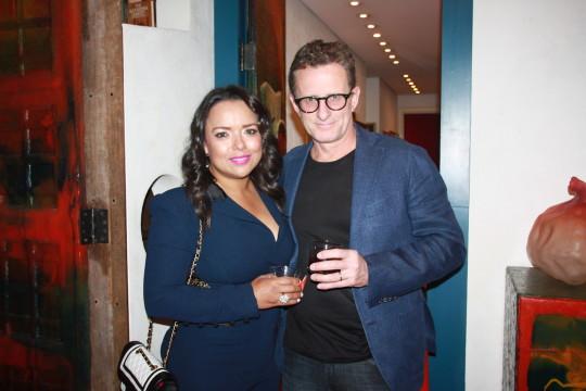 Zulema Arroyo Nick Farley 540x360 - Event Recap: Carmen Herrera Cocktails & Conversation @PublicolorNYC @MMViverito @The100YearsShow