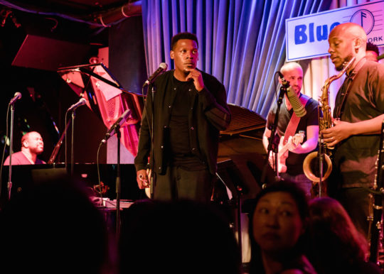2017 09 24 KEYON HARROLD BLUENOTE 1 1 540x386 - Event Recap: Keyon Harrold album release performance at the BlueNote @keyonharrold @MassAppealRecs @ShoreFire #Mugician