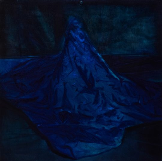 04. Anca Bodea Noli me tangere oil on canvas 100 x 100 cm  540x539 - CON-FRONT EAST Exhibition November 4- November 26, 2017 at GALLERY RIVAA @icrny #rivaa #rooseveltisland