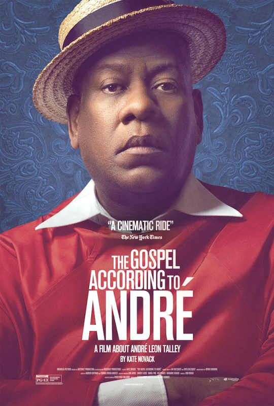 poster 1 540x800 - The Gospel According to André interview @OfficialALT @MagnoliaPics @katenovack @GospelToAndre
