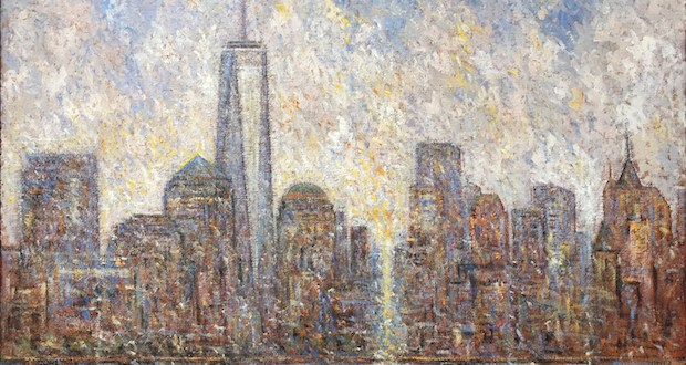 New York 40x60 oil on canvas original samir sammoun 2016 - Artexpo New York 40th anniversary April 19-April 22, 2018 @ArtexpoNewYork