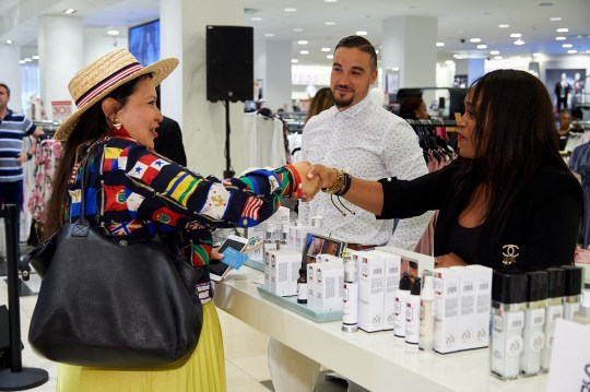 The Workshop at Macys dbts Skin Bar 4 540x359 - Event Recap: The Workshop at Macy's 2018 Vendor Showcase & Reception @macys