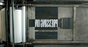 PressingOnMainTitle - PRESSING ON: The Letterpress Film - Trailer @letterpressfilm #letterpressfilm