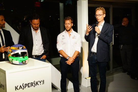 775163587 JS 5789 E18628FE3AD9444B997A3A389CEBF6E9 1 540x360 - Event Recap: Art Goes Green Event with @Kaspersky Lab @DSVirginRacing @DFaceOfficial at The @newmuseum @alexlynnracing @sambirdracing #FormulaE #NYCEPrix