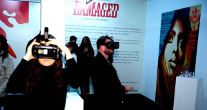559A1273 - Feature: DAMAGED App interview with Shepard Fairey and Jacob Koo of VRt Ventures by Jonn Nubian @ObeyGiant @VRtMuseums #virtualreality #shepardfairey #VRtVentures #DamagedApp