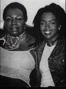 Amerigo Gazaway Nina Simone Lauryn Hill The Miseducation of Eunice Waymon Back Cover - Nina Simone + Lauryn Hill = The Miseducation of Eunice Waymon  @AmerigoGazaway @RickeyMindlin @SoulMatesCrew @zfelice @Bandcamp