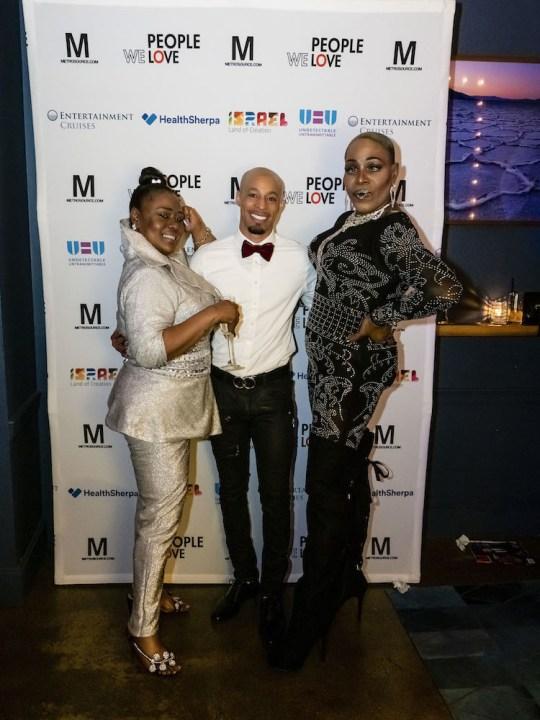 Michelle Lopez Kalvin Leveille Kim Watson 540x720 - Event Recap: Metrosource People We Love Gala @MetrosourceMag @TheTinaBurner @donlemon @mickeymusto @48loungenyc @VisitIsrael #PeopleWeLove event!  #GayNYC @ILoveGayNYC