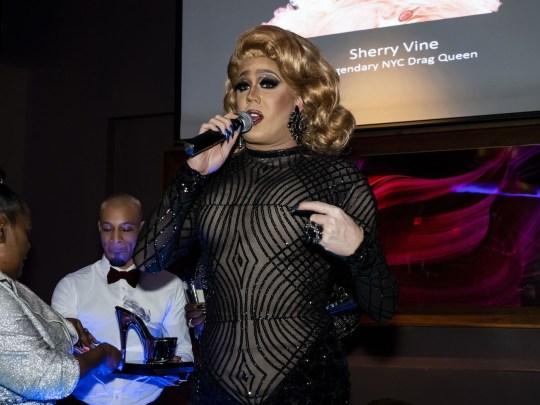 Tina Burner 540x405 - Event Recap: Metrosource People We Love Gala @MetrosourceMag @TheTinaBurner @donlemon @mickeymusto @48loungenyc @VisitIsrael #PeopleWeLove event!  #GayNYC @ILoveGayNYC