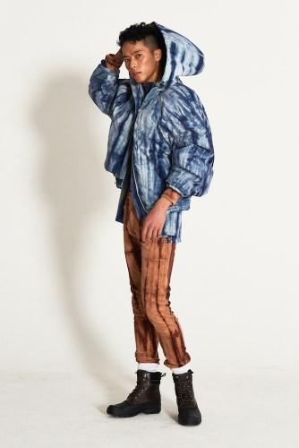 look16 - KA WA KEY FW19 Collection- Cowboy Who Cried Wasabi Tears #kawakey @fashionweek #NYFW #FW19