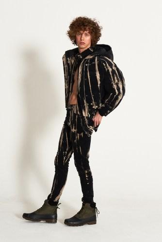 look17 - KA WA KEY FW19 Collection- Cowboy Who Cried Wasabi Tears #kawakey @fashionweek #NYFW #FW19