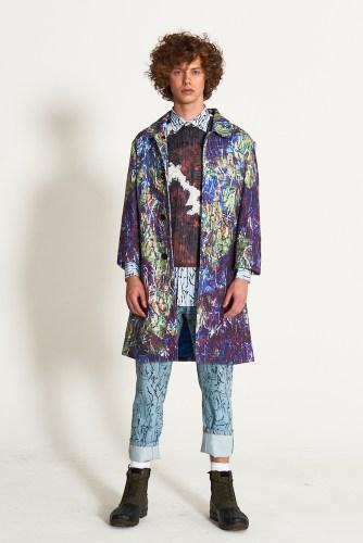 look3 - KA WA KEY FW19 Collection- Cowboy Who Cried Wasabi Tears #kawakey @fashionweek #NYFW #FW19