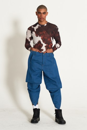 look4 - KA WA KEY FW19 Collection- Cowboy Who Cried Wasabi Tears #kawakey @fashionweek #NYFW #FW19