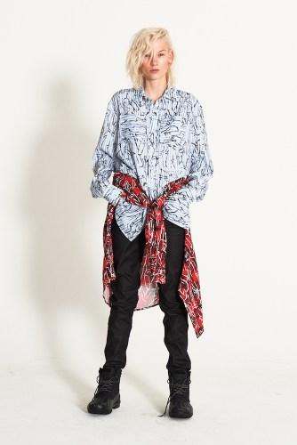 look6 - KA WA KEY FW19 Collection- Cowboy Who Cried Wasabi Tears #kawakey @fashionweek #NYFW #FW19