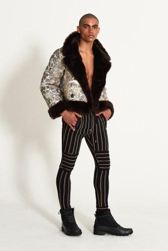 look7 - KA WA KEY FW19 Collection- Cowboy Who Cried Wasabi Tears #kawakey @fashionweek #NYFW #FW19