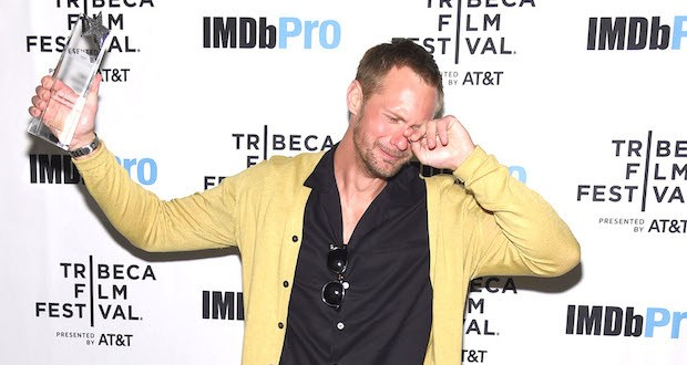 1145554485 - Alexander Skarsgård receives The IMDb STARmeter Award At The 2019 Tribeca Film Festival @IMDb @krauss_dan @tribeca #Tribeca2019