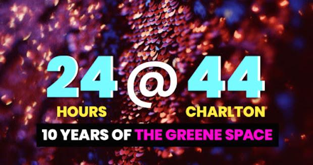 gp - #24at44: A Marathon Celebration of 10 Years in @TheGreeneSpace @wnyc @BrianLehrer @AllOfItWNYC @Gothamist @andrewbird @AttaccaQuartet, @kai_wright