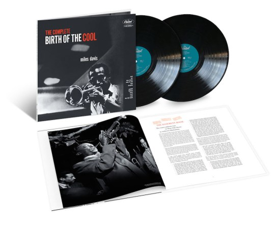 2LP product shot Miles Davis The Complete Birth of the Cool 540x445 - #VinylBase: Miles Davis: The Complete Birth of the Cool @milesdavis @NefofMiles @erindavisMDP #TheBirthoftheCool #milesdavis