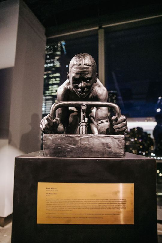 5.15.19 KadirNelson theMAJOR 131 540x810 - World Trade Center Unveils First Public Artwork by Artist Kadir Nelson x Hennessy @KadirNelson @OneWTC @HennessyUS #MarshallMajorTaylor